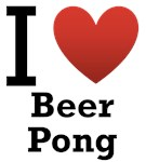I Love Beer Pong Light Tee