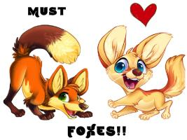 Must love Foxes!