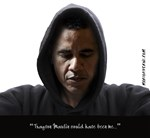 Obama-Trayvon (No Background)