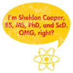 I'm Sheldon Cooper