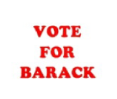 Vote for Barack Store