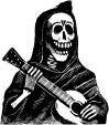 Calavera con Gitarra Store