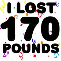 I Lost 170 Pounds!