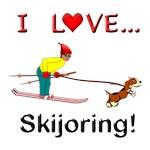 I Love Skijoring