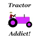 Purple Tractor Addict