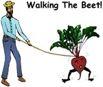 Man Walking the Beet