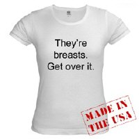 they're breasts - get over it - one great design