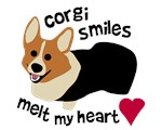 Corgi Smiles Melt My Heart - RHT