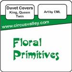Floral Primitives Duvet Covers