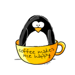 Coffee penguin