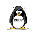 2007 Graduate Penguin