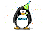 Senior Party Penguin