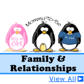 Relationships and Family Penguins