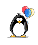 Primary Balloons Penguin