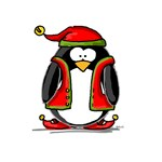 Christmas Elf Penguin