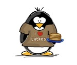I Love Latkes Penguin
