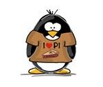 I Love PI Penguin