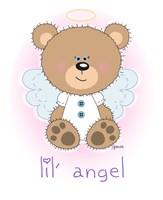 lil' brown bear angel