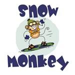 Funky Monkey - Snow Monkey