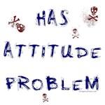 Has attitude problem with skulls