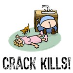Crack kills! funny