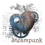 Steampunk love, riveted heart