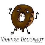 Vampire doughnut funny