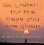 be gratefull