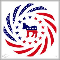Democrat Murican Patriot Flag