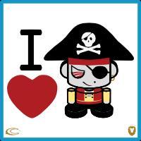 I Heart Mad Pirates