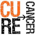 Cure (Kidney) Cancer Grunge Gear, Shirts & Gifts