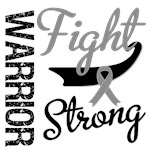 Brain Cancer Warrior Fight Strong Shirts &amp; Gifts