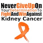 Kidney Cancer Never Give Up Shirts & Gifts