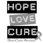 Home Love Cure Brain Cancer Shirts & Gifts