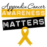 Appendix Cancer Awareness Matters Shirts & Gifts