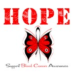 Hope Butterfly Blood Cancer Shirts & Gifts