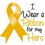 I Wear a Ribbon Appendix Cancer Hero