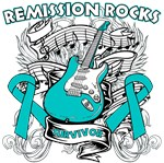 Remission Rocks Ovarian Cancer Shirts