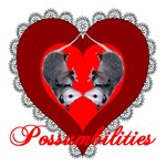 Possumbilities Valentines Day Heart