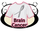 Brain Cancer Shirts, Gifts, Buttons, & Apparel
