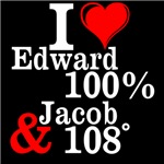 I heart Edward and Jacob