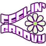 Feelin Groovy 70's retro t-shirts and gifts