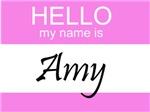 Hello My Name Is Amy