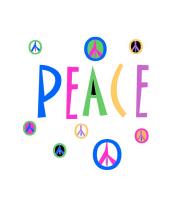 Pastel Symbols of Peace