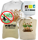 Organic Gardening Shirts Gifts & Home Garden Decor