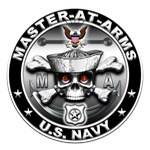USN Master-At-Arms Skull MA
