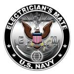 USN Electricians Mate Eagle EM