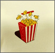 Funny Popcorn Chicken T-Shirt