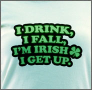 Funny St. Patrick's Day T-shirt - St patty's day