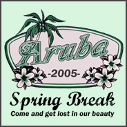 2005 Spring Break Aruba T-Shirt